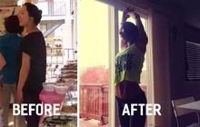 Từ 70kg xuống 47kg, cô nàng người Hàn gây bất ngờ vì kế hoạch tự lấy lại vóc dáng sau sinh tại nhà quá hoàn hảo