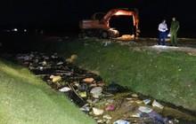 Lợn chết trôi trên kênh ở Hà Tĩnh dương tính, nguy cơ phát tán vi rút tả lợn châu Phi diện rộng