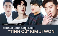 """Trước khi """"yêu"""" Song Joong Ki, Kim Ji Won dính thính cực mạnh từ 6 nam thần màn ảnh này: Số 6 còn bị đồn hẹn hò!"""