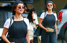 """Selena Gomez diện đồ xì tin """"cưa sừng làm nghé"""", ai ngờ vòng 1 khủng quá lấn át tất cả"""