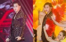 """Môi Ali Hoàng Dương bỗng đỏ choét trên sân khấu nhưng hoá ra là """"hưởng sái"""" từ người chị Thảo Trang"""
