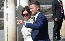 Thần thái vợ chồng Beckham áp đảo toàn bộ khách mời đến dự đám cưới xa hoa của đội trưởng Real Madrid
