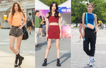 Street style giới trẻ Hàn tuần qua: đại hội áo phông nhưng chẳng ai mix đụng ai, khuyến mại thêm loạt gợi ý mix đồ mát quên sầu