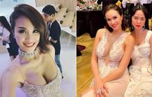 Cô dâu nóng bỏng nhất Vbiz: Phương Mai chưa bao giờ ngại phô diễn vòng 1 huống chi tại hôn lễ của mình