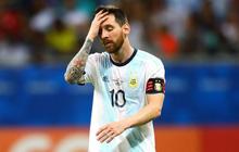 Messi mờ nhạt, Argentina nhận thất bại tủi hổ ở trận ra quân Copa America