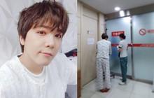"""Nhìn ảnh Lee Hong Ki nhập viện trông rõ là khổ sở, nhưng bệnh tình ẩn sau mới gọi là """"củ chuối"""""""