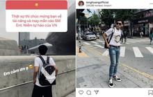 Fan chúc mừng được vào SM Entertainment, Long Hoàng phản ứng khiến ai cũng thắc mắc: Đã trở thành thực tập sinh hay rốt cuộc chỉ đi dự trại hè?