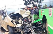 Đà Lạt: Xe buýt đối đầu xe con, một người tử vong