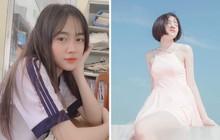 Mặc đồng phục chụp vội tấm ảnh, nữ sinh 2001 khiến dân tình chao đảo vì quá xinh xắn, ngọt ngào