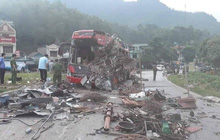 Vụ tai nạn kinh hoàng khiến 40 người thương vong ở Hòa Bình: Chiếc xe tải biển Lào không có dữ liệu tốc độ