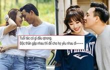 """Giữa tin đồn Mỹ Tâm - Mai Tài Phến bí mật hẹn hò, Hari Won hào hứng: """"Tuổi tác có gì đâu quan trọng, độc thân gặp nhau thì cho họ yêu đi"""""""