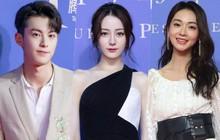 """Thảm đỏ Tencent: Địch Lệ Nhiệt Ba """"áp đảo"""" Ngô Cẩn Ngôn cả sắc lẫn vóc, Vương Hạc Đệ gây sốt đúng chuẩn soái ca"""