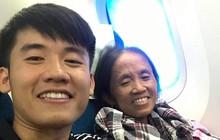 """Bà Tân """"vê - lốc"""" đăng ảnh lần đầu được đi máy bay nhưng phần caption """"hiểu được chết liền"""" mới là cái khiến dân mạng chú ý"""