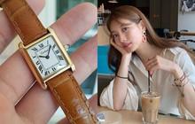 Ra mắt từ lâu nhưng mẫu đồng hồ tối giản mà sang chảnh này vẫn mê hoặc các fashionista, bao gồm 2 quốc bảo nhan sắc xứ Hàn