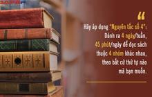 """Biến đọc sách trở thành thói quen lâu dài bằng """"Nguyên tắc số 4"""" của tiến sĩ ĐH Yale: Làm theo không khó, muốn đổi đời nhất định phải thử qua một lần!"""