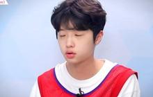 """Center bài hát chủ đề """"Produce X 101"""" nức nở vì sợ không được debut"""