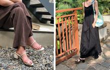Mang danh giày có gót nhưng 2 lựa chọn này không hề gây đau chân, lại mát rượi để diện vào mùa hè