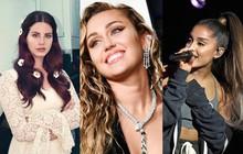 """Taylor Swift đã """"bắt tay"""" Katy Perry thì Miley Cyrus cũng phải """"rủ rê"""" Ariana Grande - Lana Del Rey cho bằng được!"""