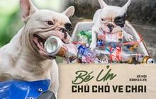 """Đây là gia tài """"siêu to khổng lồ"""" của Ủn - Chú chó thích đi nhặt ve chai ở Hà Nội"""
