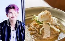 """Trời hè nóng bức, RM (BTS) đi ăn có tô mì lạnh thôi nhưng cũng tạo nên """"huyền thoại"""""""