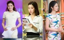"""Style của các Hoa hậu, Á hậu khi làm BTV truyền hình: Người """"bánh bèo"""" hơn thường, người đầy màu sắc nhưng đều 100% thanh lịch"""