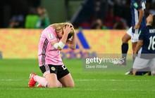 Dẫn trước 3 bàn nhưng bị gỡ hòa trong vỏn vẹn 20 phút, tuyển nữ Scotland bật khóc nức nở khi bị loại khỏi World Cup nữ 2019