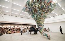 """Triển lãm """"Hành tinh nhựa"""" từ hàng vạn vật liệu nhựa: Sau khi sử dụng, nhựa sẽ đi về đâu?"""