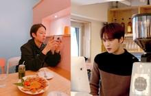 """Jaejoong (JYJ) mở quán trà sữa ở Nhật, anh em """"bạn dì"""" Heechul (Super Junior) cũng ghé ủng hộ"""