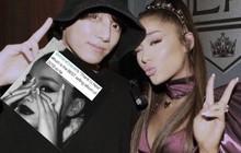 """Fan BTS đang """"ném đá"""" Ariana Grande chỉ vì một chi tiết trong bức ảnh này: ai đúng ai sai?"""