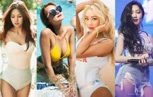 """Trời 60 độ cũng phải """"tắt nắng"""" vì dàn idol nữ Kpop sở hữu body chuẩn Tây: Nét nóng bỏng thay đổi cả quy chuẩn!"""