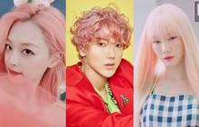Một lọ thuốc nhuộm cả nhà SM dùng chung hay sao mà từ Sulli, Yesung đến Taeyeon đều nhuộm tóc hồng đủ tông hết cả