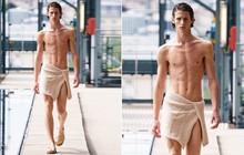 Trái Đất nóng dần lên và quần áo ngắn dần đi, nam nhân ở Paris sắp quấn khăn ào ra đường tới nơi
