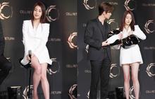 Nam thần vạn người mê Park Seo Joon bị lấn át giữa sự kiện chỉ vì... đôi chân cực phẩm của bạn gái cũ Hyun Bin