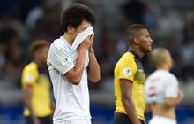 Tuyển thủ Nhật Bản ôm mặt thất vọng, các đại diện châu Á sạch bóng ở tứ kết cúp bóng đá Nam Mỹ