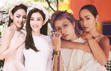 """Khi gái đẹp yêu nhau: Hết """"tiếng sét ái tình"""" giữa 2 hot girl nóng bỏng tới sẵn sàng cho một đám cưới trong mơ"""
