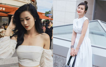 Riêng Đông Nhi, cứ mặc đồ trắng là các fan sẽ bớt lo lắng ngay!
