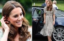 Chỉ vì sơ suất này khi trang điểm, Công nương Kate dù diện váy trẻ trung vẫn không thể che được dấu hiệu tuổi tác