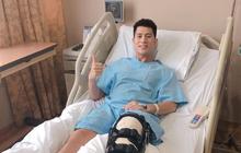Đình Trọng tươi tỉnh gửi lời cảm ơn đến người hâm mộ sau ca phẫu thuật thành công tại Singapore
