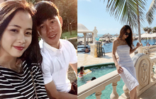 Bạn gái cầu thủ Minh Vương tiết lộ chuyện tình sét đánh ở quán trà chanh lề đường, khẳng định yêu xa là 1 kì tích
