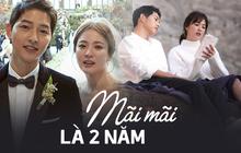Mãi mãi là bao lâu? Hôn nhân của Song - Song đã khiến fan ngôn tình khóc nghẹn vì câu trả lời: Là 2 năm thôi!