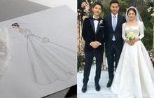 2 năm trước, Song Hye Kyo từng gây thổn thức vì hình ảnh hạnh phúc trong mẫu váy cưới đẹp như mơ