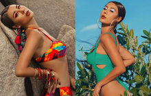 Sợ hè chưa đủ nóng nên Nam Thư lại vừa tung loạt ảnh bikini khoe dáng cực bốc lửa