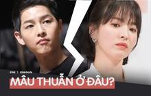 """Song Hye Kyo nói ly hôn vì """"khác biệt tính cách"""", Song Joong Ki thì """"muốn dàn xếp thay vì tấn công và đổ lỗi"""", sao mâu thuẫn thế này?"""