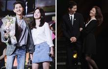 Song Joong Ki - Song Hye Kyo ly hôn rồi, dân tình sẽ không bao giờ được thấy họ mặc đồ ăn ý như thế này nữa