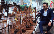 """Gặp ông trùm thời trang với bộ sưu tập """"chim khủng"""" 10 tỷ đồng: Chim nằm điều hòa, có camera an ninh và hai nhân viên chăm sóc đặc biệt"""
