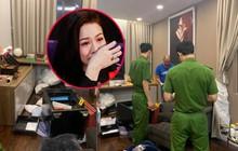 Cận cảnh khám nghiệm hiện trường vụ trộm hơn 5 tỷ đồng trong căn biệt thự của ca sĩ Nhật Kim Anh