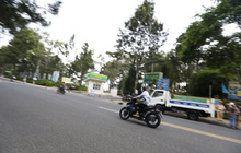 Nhiều nam thanh, nữ tú rú ga bỏ chạy khi bị công an giao thông Đà Lạt kiểm tra tốc độ