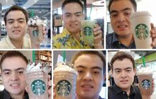 Suốt 3 năm, thay 30 ava nhưng full bộ là tự sướng với cốc Starbucks, fan cuồng này phải chăng muốn trở thành đại sứ thương hiệu?
