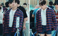 Hiếm hoi mới có idol mặc quần bơi ra sân bay nhưng phản ứng của netizen mới là điều thú vị