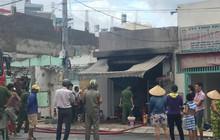 TP. HCM: Nổ bình gas làm cháy quán ăn, một người bị thương